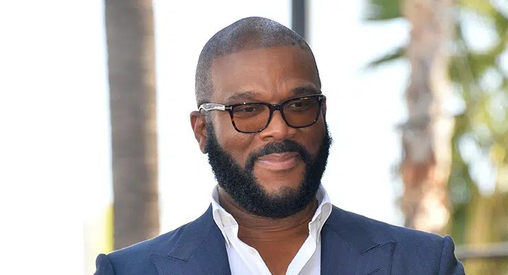 LOS ANGELES, CA. October 01, 2019: Tyler Perry at the Hollywood Walk of Fame Star Ceremony honoring Tyler Perry — Photo by Featureflash