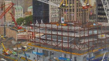 Construction on Four WTC