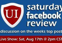 UI Saturday Facebook Review #01