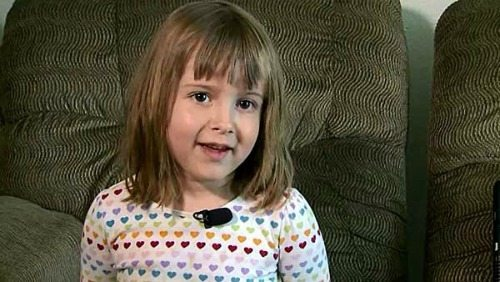 4-Year-Old White Girl Saves Black Man From Prison