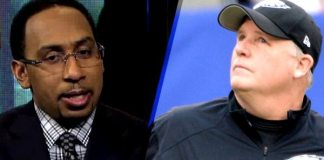 Stephen A. Smith Implies Race Motivates Eagles GM/Coach Chip Kelly To Not Resign Black Players