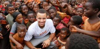 Steph Curry Donates Life-Saving Nets In Africa For Every 3 Pointer Made