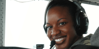 Jeanine Menze: First Black woman to become a pilot for the United States Coast Guard military branch