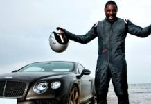 "Is Idris Elba ""Too Street"" to Play James Bond? According to the Author, He Is, but Elba Is Smiling."