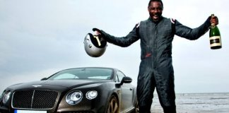 """Is Idris Elba """"Too Street"""" to Play James Bond? According to the Author, He Is, but Elba Is Smiling."""