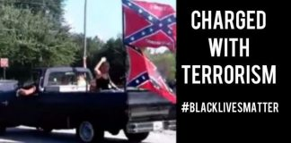 Georgia Confederate Flag Crazies Who Crashed Children's Birthday Party Charged as Terrorist | #BlackLivesMatter 2