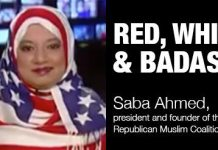 Stars and Stripes Hijab: A Red, White and Badass F*ck You To Fox News