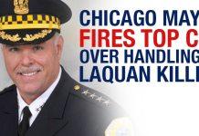 BREAKING: Chicago Mayor Fires Top Cop Over Handling Of Laquan Killing 2
