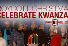 Boycott Christmas and ONLY Celebrate Kwanzaa This Year