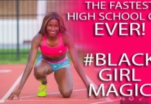 #BlackGirlMagic 16-Year-Old Candace Hill Is The Fastest And Youngest Track Star To Go Pro