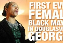 FIRST EVER: Female Black Mayor In Douglasville, Georgia!!!