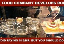A Simple Solution To Fast Food Companies Hiring Burger Making Robots Instead of $15/hr Workers