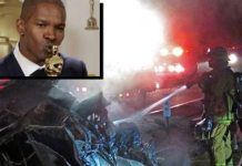 Jamie Super FOXX in Action Pulls Man from Burning Car | MY HEROS ARE BLACK LIKE ME: 3