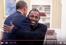 VIDEO of Obama Meeting Kendrick Lamar In The Oval Office To Promote Youth Mentoring Program