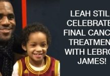 Leah Still Celebrates Her Final Cancer Treatment With Friend LeBron James!