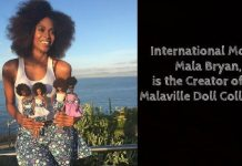 International Model, Mala Bryan, is the Creator of the Malaville Doll Collection 2