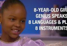 8-year-old Girl Genius Speaks 8 Languages & Plays 8 Instruments [VIDEO]