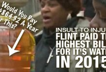 INSULTING: Flint Paid The HIGHEST BILLS For It's Water in 2015!