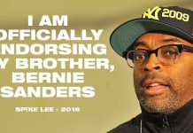 """Director Spike Lee Endorses """"Brother, Bernie Sanders"""" And Says He Will """"Do The Right Thing"""""""