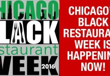 Did You Know There Is A Black Restaurant Week In Chicago?... And It's Happening NOW!!!!
