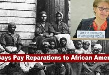 United Nation's Panel Says United States Should pay Reparations to African Americans