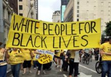 [Solidarity] White People Protesting for Black Lives Matter 2