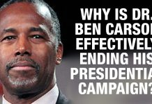 Ben Carson Bails On Detroit Debate and Signals End To His Presidential Campaign, Here's Why....