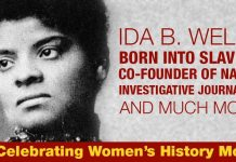 Ida B. Wells: Born Into Slavery And Became Founder Of NAACP And An Investigative Journalist Who Documented Lynching!
