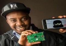 Celebrate Us | Black Man Creates Cap With Logo That Changes Through Smartphone App