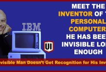 Did You Know He Is The Inventor of the Personal Computer Who Holds 3 Patents for the Design?