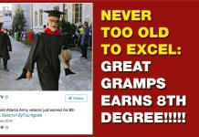 NEVER TOO OLD TO EXCEL: Great Gramps Earns 8th Degree!!!!! 2