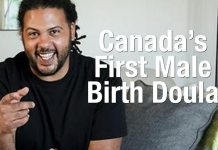 RESPECT: This Man Is Canada's First Male Birth Doula