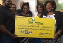 Smith Famiy of 8 Wins $429.6 Million Powerball   What Would You Do With The Money?