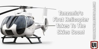 Tanzania's First Helicopter Takes To The Skies Soon!