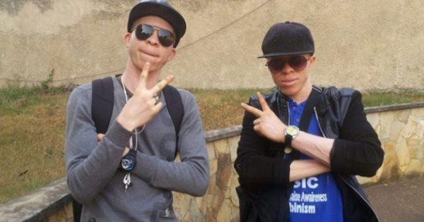 Cameroon's Albino Rap Duo Fights Stigma With Music | Urban ...