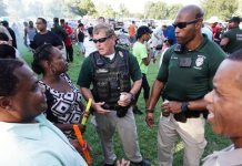 Kansas Black Lives Matter & Wichita Police Department Host BBQ to Foster Good Will in the Community