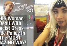 THIS Woman Dealt With Racist Dress Code Policy In The MOST AMAZING WAY! 5