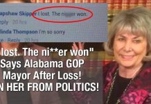 """""""I lost. The ni**er won"""" Says Alabama GOP Mayor After Loss! BAN HER FROM POLITICS! 2"""