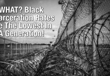WHAT? Black Incarceration Rates Are The Lowest In A Generation!