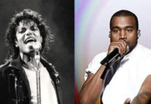 Kanye West's 40th Top 40 Hit Breaks Michael Jackson's Record