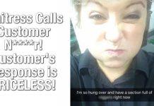 Waitress Calls Customer N****r! Customer's Response is PRICELESS! 3