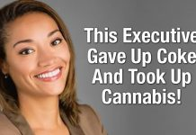 This Executive Gave Up Coke And Took Up Cannabis!