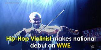 Did You See Hip-Hop Violinist Lee England Jr. Make His Debut On WWE | Must See Video