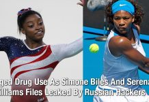 Alleged Drug Use As Simone Biles And Serena Williams Files Leaked By Russian Hackers