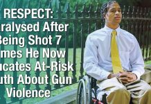 RESPECT: Paralysed After Being Shot 7 Times He Now Educates At-Risk Youth About Gun Violence