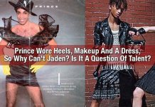 Prince Wore Heels, Makeup And A Dress, So Why Can't Jaden? Is It A Question Of Talent?