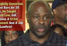 Wrongfully Convicted, Behind Bars for 20 Years, He Taught Himself Law, Got Released, A $15m Settlement And A Job At A Lawfirm!