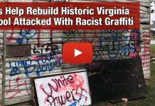 Let's Help Rebuild Historic Virginia School Attacked With Racist Graffiti