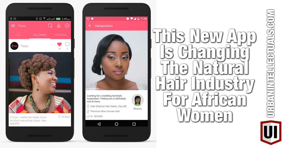 This New App Is Changing The Natural Hair Industry For African - Hairstyle colour app
