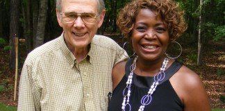 Dee Armstrong and Dick McMichael